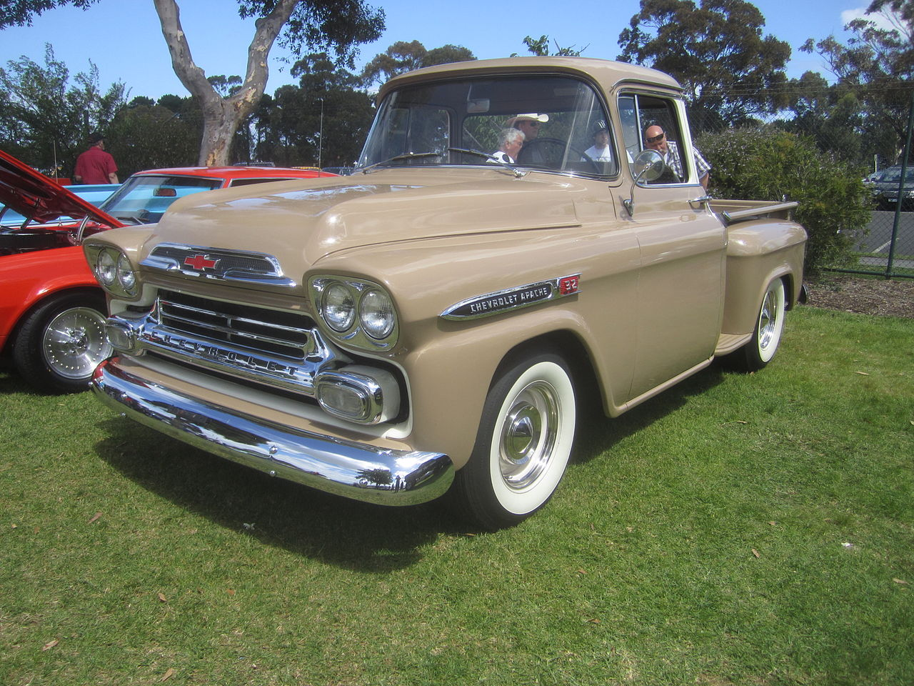Chevy Apache Stepside Short Bed For Sale