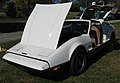 1974 Bricklin 4 speed white at Potomac Ramblers meeting 02.jpg