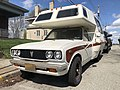 1977 Toyota Truck with Chinook camper, front right, 4-11-2021.jpg