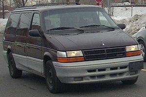 1994-1995 Dodge Grand Caravan photographed in ...