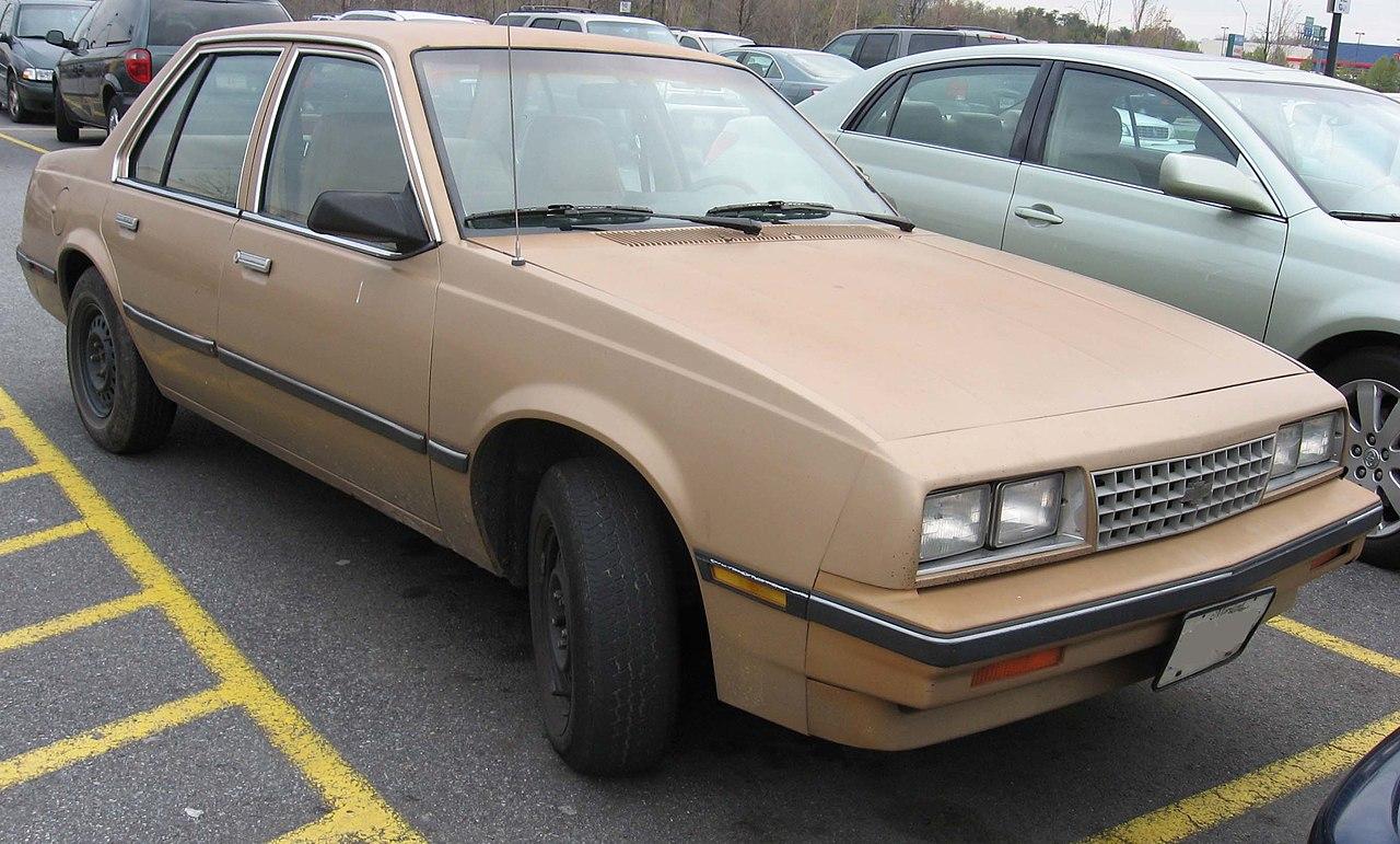 Cavalier 1982 chevrolet cavalier : File:1st-Chevrolet-Cavalier-Sedan-1.jpg - Wikimedia Commons