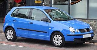 Volkswagen Polo Mk4 Motor vehicle