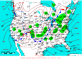2007-01-12 Surface Weather Map NOAA.png