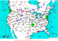 2007-06-11 Surface Weather Map NOAA.png