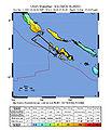 2007 Solomon Islands earthquake impact map.jpg