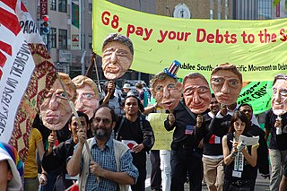 2008 G8 Summit Antiglobalist Demonstration March