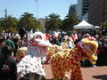 2008 Olympic Torch Relay in SF - Lion dance 19.JPG