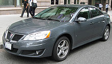 The G6 Was Last Pontiac Manufactured By General Motors 2009 5 Model Shown