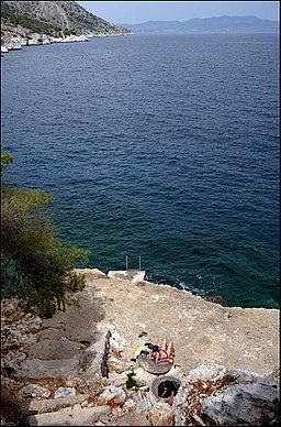 20090517 Mariza Beach Limenaria Angistri island Greece