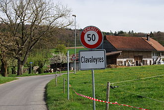 Clavaleyres - Clavaleyres village