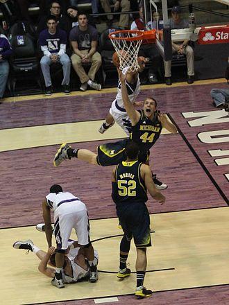 Personal foul (basketball) - Image: 20130103 Max Bielfeldt draws a foul (3)