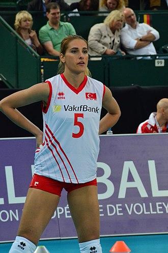 Ergül Avcı - Image: 20130908 Volleyball EM 2013 Spiel Dt Türkei by Olaf Kosinsky DSC 0017