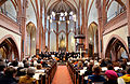 2014-04-18 Apostelkirche Hannover, Karfreitag-Gottesdienst, (005) Johannespassion, William-Byrd-Ensemble, Apostelchor, Andreas Schmidt-Adolf, Erwin Schütterle.jpg