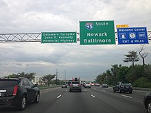 Interstate 95 in Delaware - Wikipedia