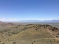 "2014-06-13 12 23 50 View east from the summit of ""E"" Mountain in the Elko Hills of Nevada.JPG"