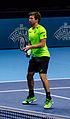 2014-11-12 2014 ATP World Tour Finals Alexander Peya at net by Michael Frey.jpg