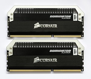 Corsair Components - Corsair Dominator Platinum 2x4GB, 1866MHz