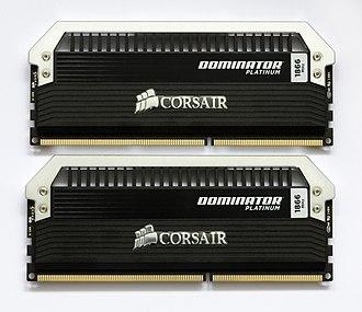 Corsair Components - Corsair Dominator Platinum 2x4GB, 1866MHz