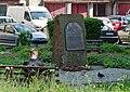 2014 Kłodzko, pomnik w miejscu byłej synagogi 02.jpg