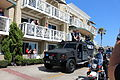 2014 Los Angeles Kings Stanley Cup parade Brown, Toffoli, & The Cup (14269231880).jpg