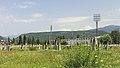 2014 Suchum, Widok na stadion miejski i góry (02).jpg