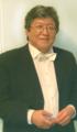 2015, Заслуженный артист РФ, трубач и дирижёр Василий Кан в Мариинском театре, фрагмент фото.png