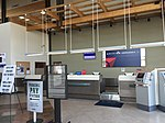 2015-05-05 10 53 26 Ticketing and check-in counter within the terminal at the Elko Regional Airport in Elko, Nevada.jpg