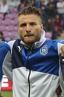 Ciro Immobile Italian footballer