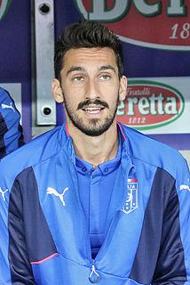 Davide Astori Italian footballer
