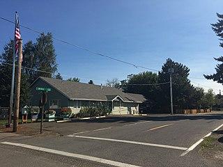 Donald, Oregon City in Oregon, United States