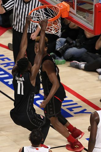 Mohamed Bamba - Bamba dunking during then 2017 McDonald's All-American Boys Game