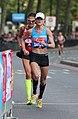 2017 London Marathon - Diana Lobacevske & Kellyn Taylor (cropped).jpg