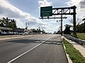2018-10-01 14 53 10 View east along U.S. Route 30 and south along U.S. Route 130 (Crescent Boulevard) at Camden County Route 628 (South Park Drive) in Camden, Camden County, New Jersey.jpg