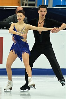 Ekaterina Bobrova Russian ice dancer