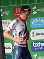 2018 Tour of Britain stage 1 - stage combativity award Matthew Bostock.JPG