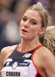 Emma Coburn American middle-distance runner