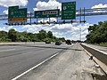 2019-06-14 12 55 05 View east along the Inner Loop of the Baltimore Beltway (Interstate 695) at Exit 31C (EAST Maryland State Route 43-White Marsh Boulevard, White Marsh) on the edge of Parkville and Overlea in Baltimore County, Maryland.jpg