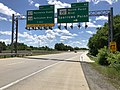 2019-06-14 13 32 44 View south along the Inner Loop of the Baltimore Beltway (Interstate 695) at Exit 42 (Maryland State Route 151-North Point Boulevard, Sparrows Point) on the edge of Dundalk and Edgemere in Baltimore County, Maryland.jpg
