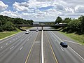 2019-07-18 13 31 22 View southeast along Interstate 695 (Baltimore Beltway) from the overpass for Interstate 95 in Arbutus, Baltimore County, Maryland.jpg