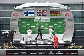 2019 Chinese Grand Prix, Champagne Time (47553430762).jpg