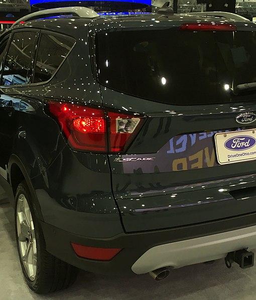 File:2019 Ford Escape (NA), Cleveland Auto Show.jpg