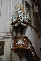 2019 Interior of the Cathedral of Saints Peter and Paul in Brno 05.jpg
