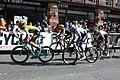 2019 ToB stage 8 Manchester finish 015 Mike Teunissen 046 Cameron Meyer 112 Davide Cimolai 063 Danio Wyss.JPG