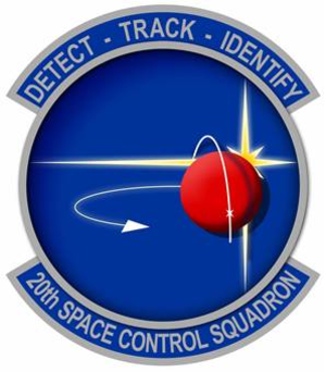 20th Space Control Squadron - 20th Space Control Squadron emblem