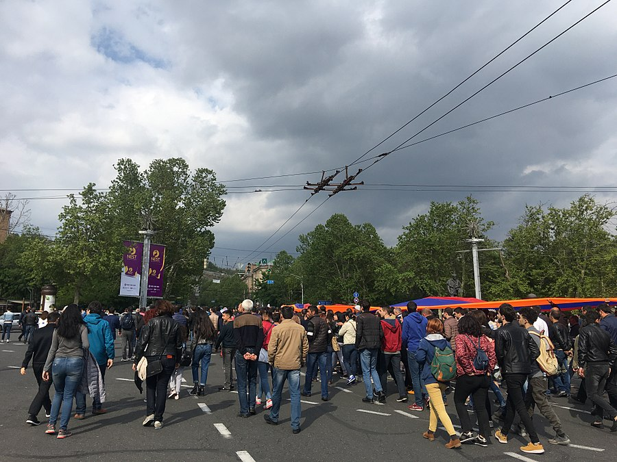 22.04.2018 Protest Demonstration, Yerevan 76.jpg