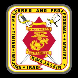 2nd Battalion, 23rd Marines - 2nd Battalion, 23rd Marines insignia