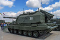 2S19M1 Msta-S self-propelled artillery at Engineering Technologies 2012.jpg