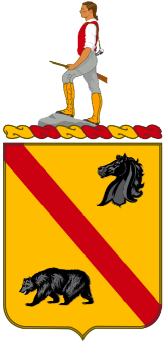 302nd Cavalry Regiment (United States) - Coat of Arms of the 302nd Cavalry Regiment