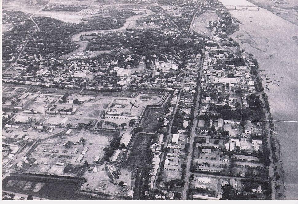 34. Quang Tri Citadel and City looking South Fall 1967