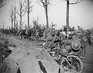 Army Cyclist Corps - Cyclists of the 36th (Ulster) Division in France, 1918